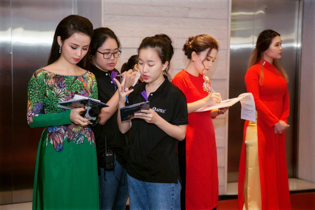 event, apex, agency, event agency, MC Thanh Giang